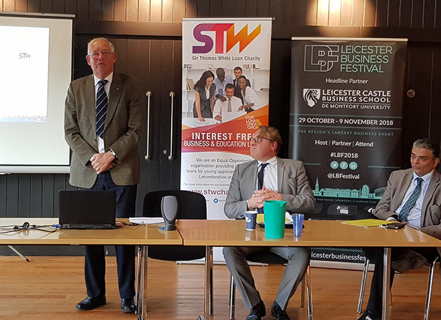 Charity Hosts Leicester Business Festival Event for Aspiring Business Owners