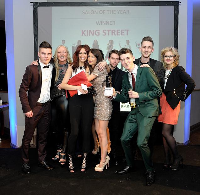 Barrie Stephen Hair Team Acknowledges Huge Success