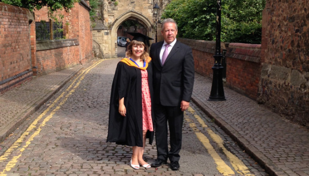Success Story: Education Borrower Plans to Be a University Academic