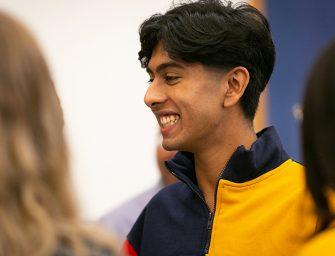 Scholarship Beneficiary Humzah Heading to Oxford