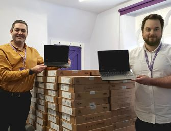 Sir Thomas White Loan Charity Delivers Grant to Fund Laptops for Children in Leicestershire
